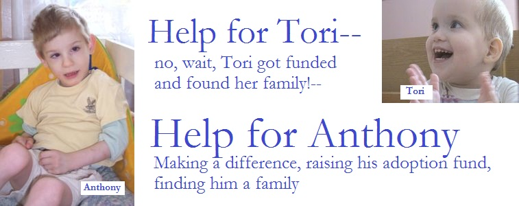 Help for Tori ...and Anthony!