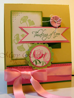 stampin up, sympathy card, hostess set, kind & caring thoughts