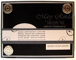 stampin up, happy grad stamp set, graduation cards