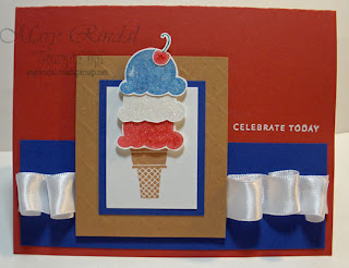 stampin up, sweet scoops