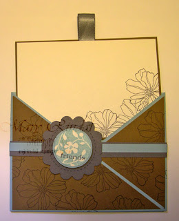 stampin up, stampin addicts, technique challenge, fifth ave floral, just believe, criss cross card