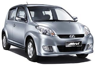 Perodua MYVI best selling car in Malaysia