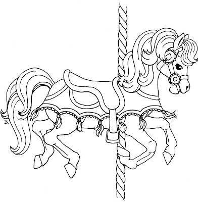 Gallery For Gt Carousel Horse Template