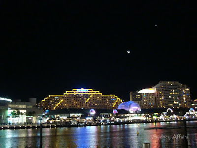 Darling Harbour Night Sunset, Sydney, Australia