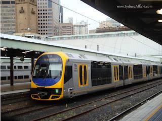 Sydney Train, Strathfield, Sydney, Australia
