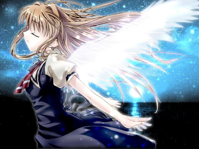Misuzu from Air. Moonlight Angel Misuzu