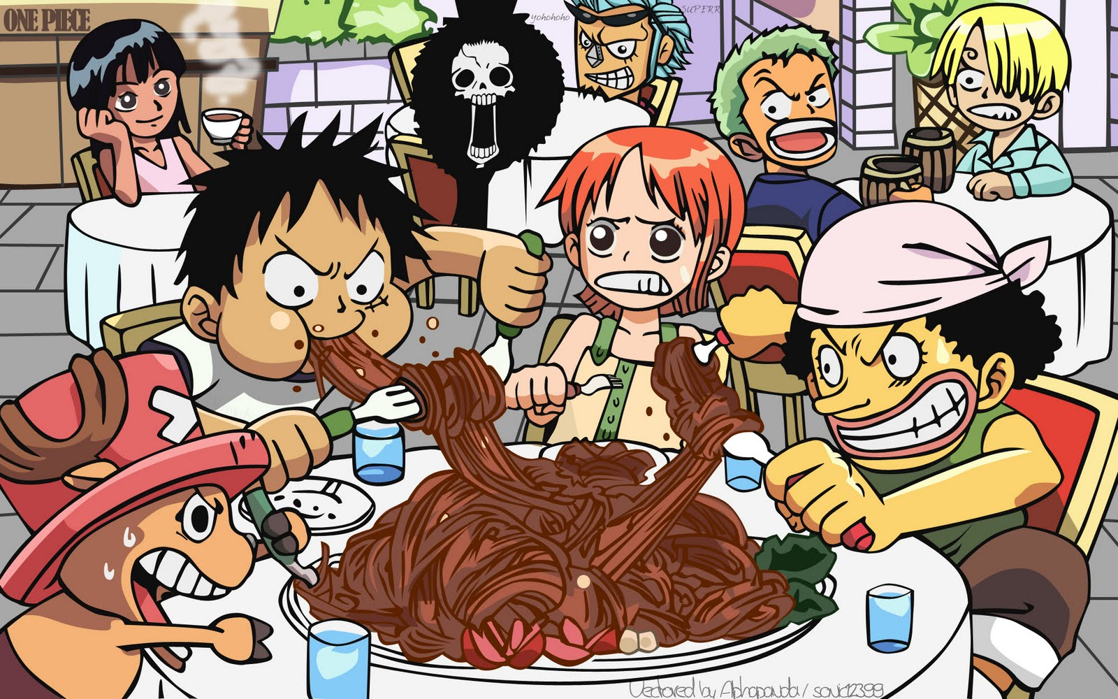 One Piece HD & Widescreen Wallpaper 0.792599232257654