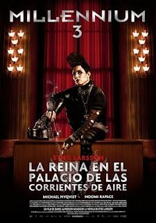 Millenium 3: La reina en el palacio de las corrientes de aire (2010).Millenium 3: La reina en el palacio de las corrientes de aire (2010).