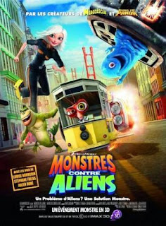 Monsters vs. Aliens (Mosntruos contra Alienigenas)(2009).Monsters vs. Aliens (Mosntruos contra Alienigenas)(2009).