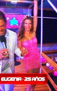 Eugenia soñando por Bailar Escandalo sexual por sexo con Hernán.