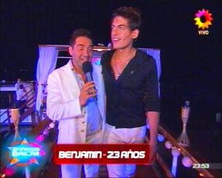 Benjamín Saavedra: Soñando por Bailar 2011 (Participante).
