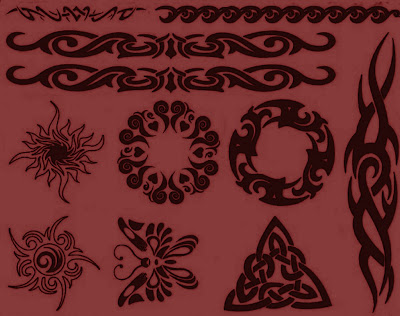 Black Tribal Designs