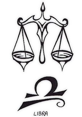 Libra Tattoo Symbol