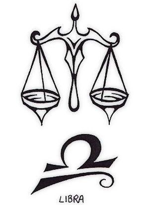 Libra Tattoo Symbol