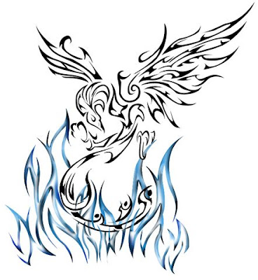 Best Sketch Of Phoenix Tattoo Design Picture 2