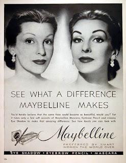 Publicité Mascara Maybelline