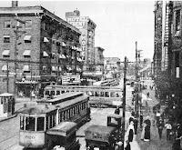 Cleveland feux de circulation 1914