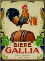 Affiche bière Gallia