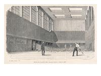 Salle de Jeu de paume au passage Cendrier