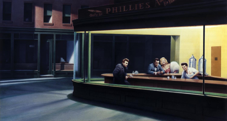 http://4.bp.blogspot.com/_DMxDOYqJJ7Q/TQDZNXI8raI/AAAAAAAABlI/7YXFW-jOXTY/s1600/Nighthawks-Bogart-Presley-Monroe-Dean.jpg