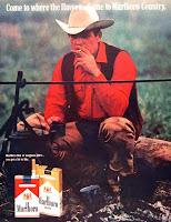 Marlboro Cow-boys publicite
