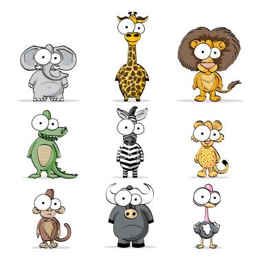 Els animals de africa