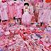 Cor-de-rosa para meninas