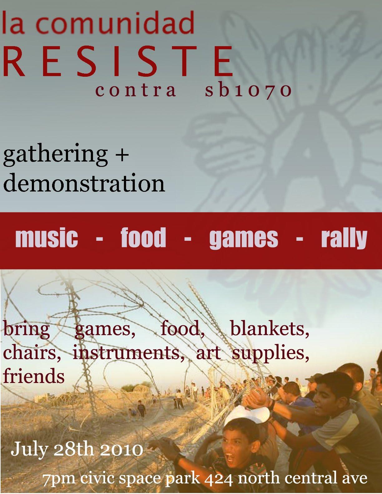 Resist SB 1070