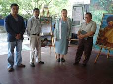 Distinguidos artistas visitan el Centro Educativo Refugio Sifontes