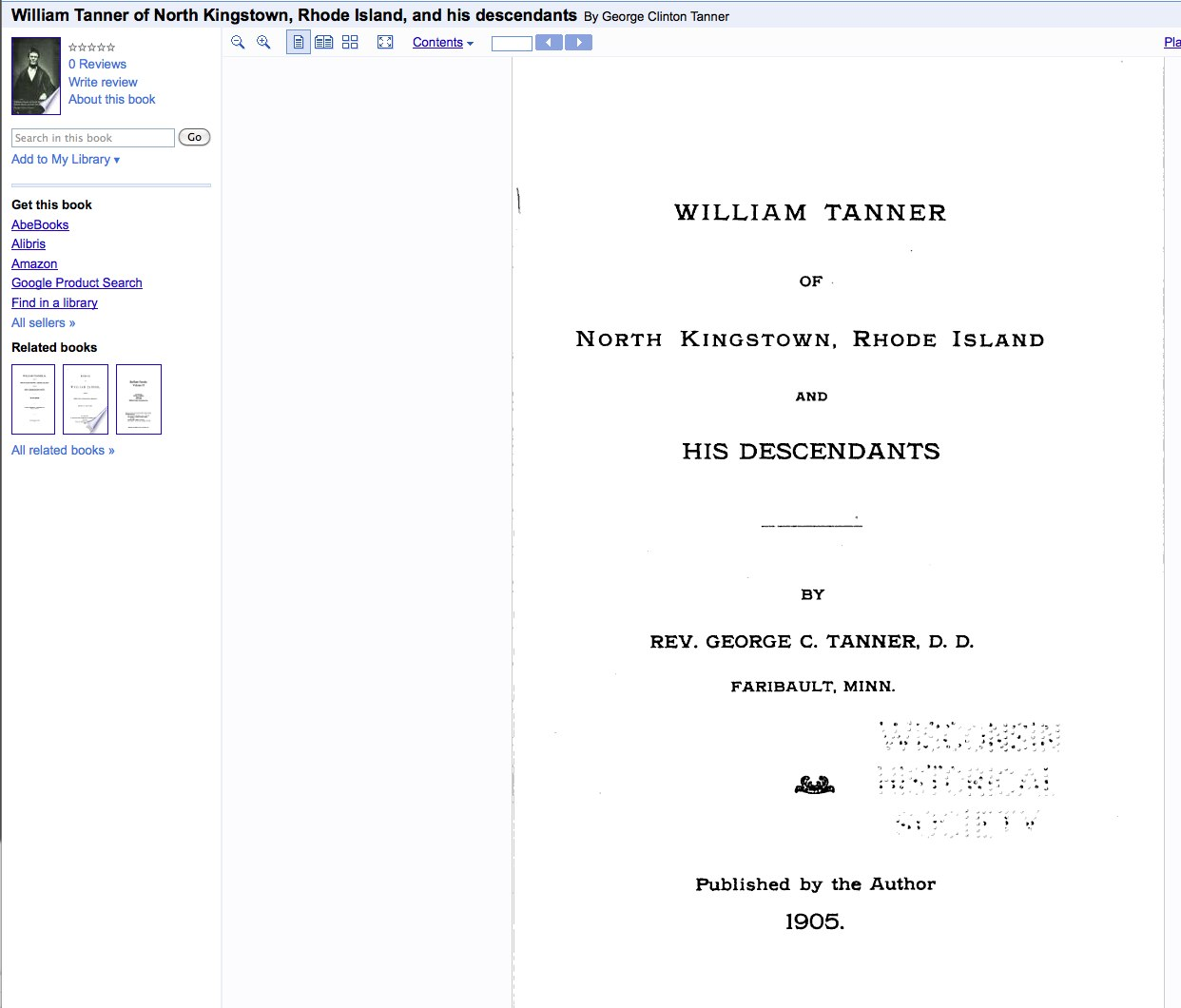 Google Books Has The Entire Book Digitized In Full View The Citation To The  Book Is