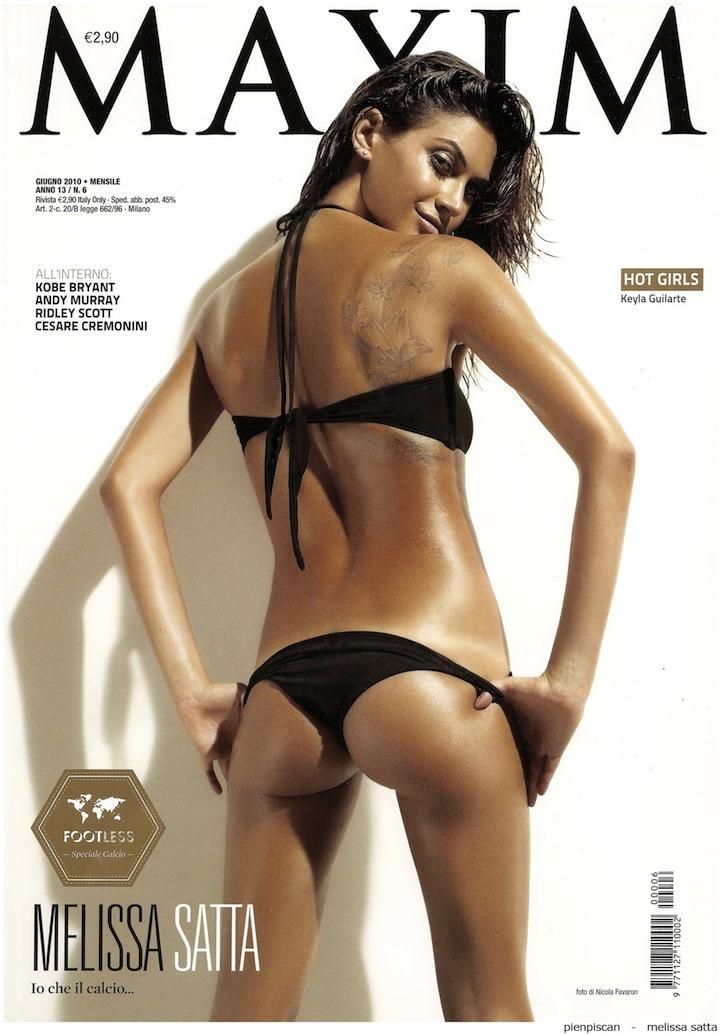 Melissa Satta En Maxim