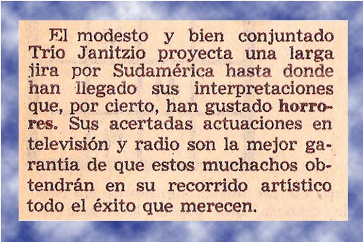 LLEGARON LEJOS...