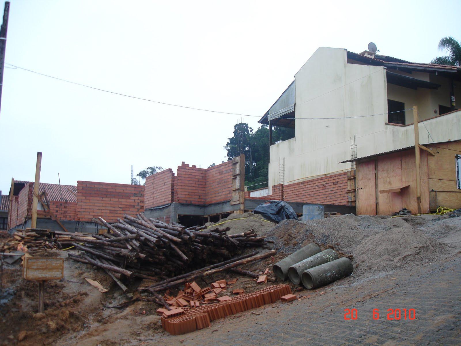 Nossa Casa no Site Construção da fundação ao acabamento: Fotos  #4A8181 1600 1200