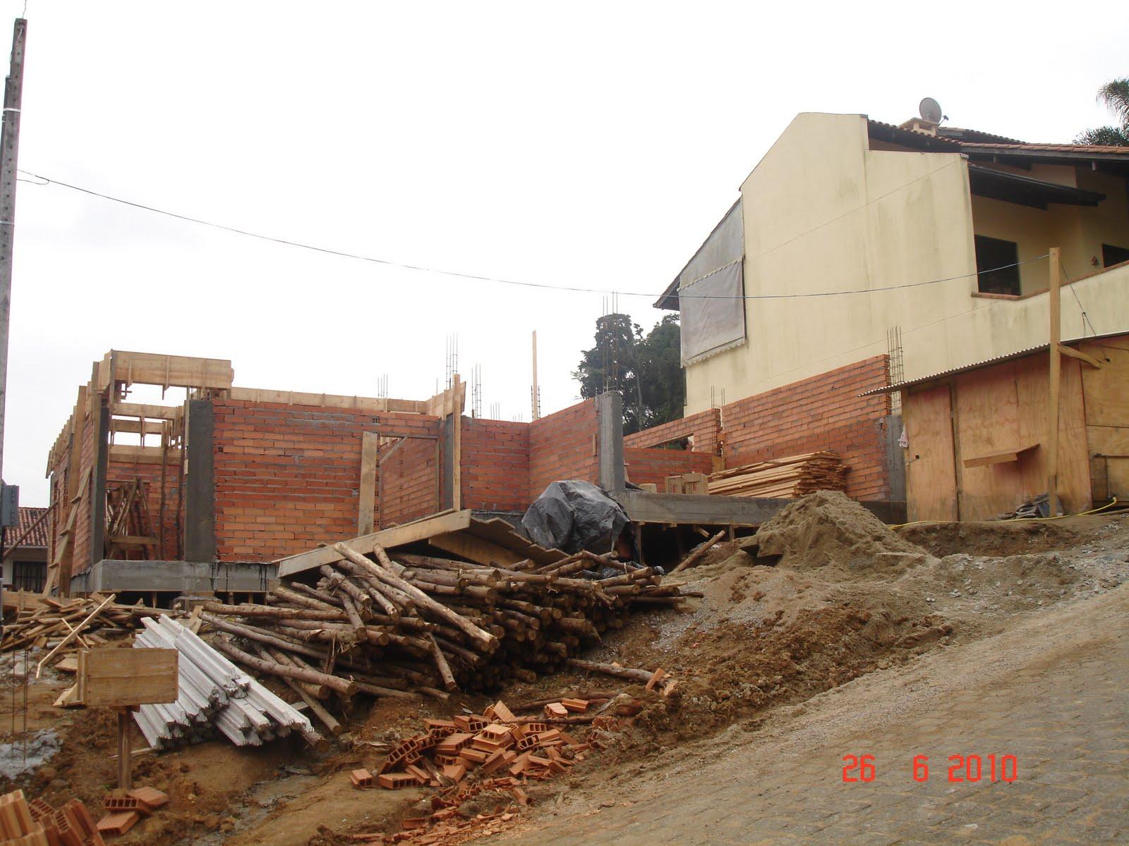 Nossa Casa no Site Construção da fundação ao acabamento: Fotos  #AE2F1D 1600 1200