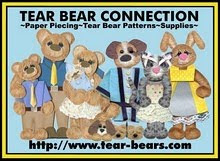 (Tara's pattern sets) TEAR BEAR CONNECTION