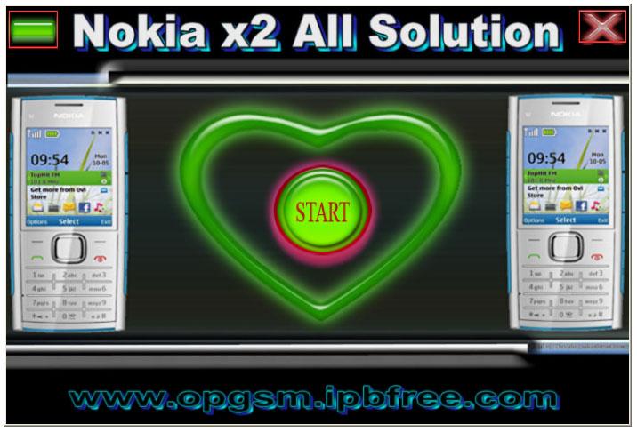opgsm nokia x2 all solution. Black Bedroom Furniture Sets. Home Design Ideas