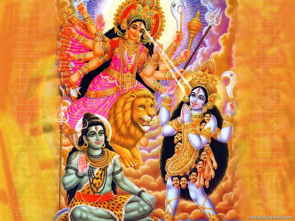 Maa Durga and Kali