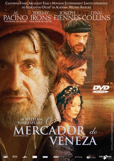 Filme O Mercador De Veneza   Dublado
