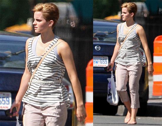 emma watson haircut burberry. Emma Watson Gold Burberry