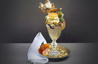 The Golden Opulence Sundae