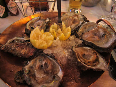 Knysna Bay Oysters at Montago Bay