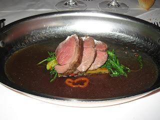Roast Lamb at Bouchon