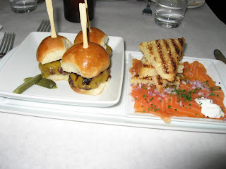 Sliders at Postrio Las Vegas