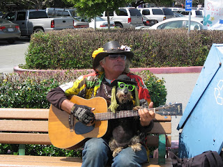 Guitar Man at Sausalito