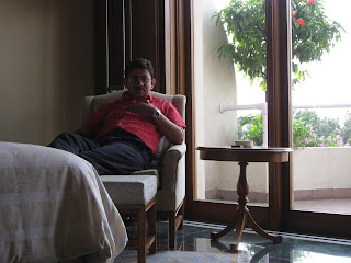 At the Oberoi Bangalore