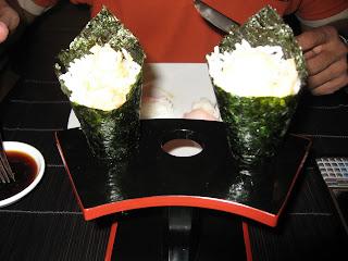 Japanese food at Harajuku O Hotel Pune