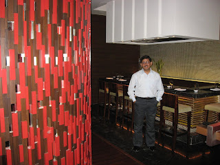 Japanese food at Harajuku O Hotel Pune