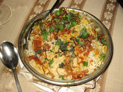 Biryani at Firdaus
