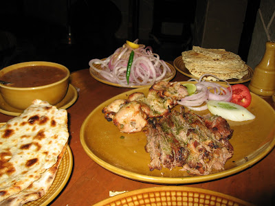 Kabab Platter at Peshawar, Grand Maratha Mumbai