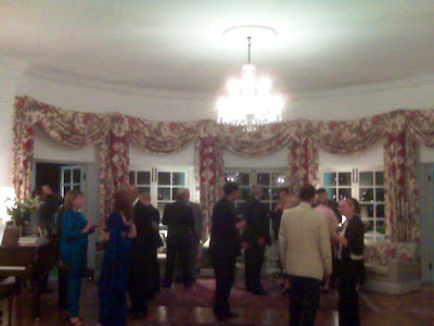 Dinner Reception at the British High Commissioner's Residence